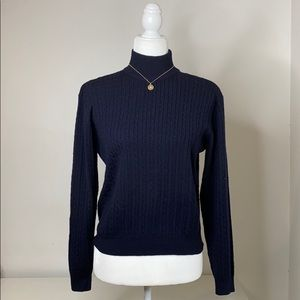 Chelsea Cambell for Charter Club knit sweater